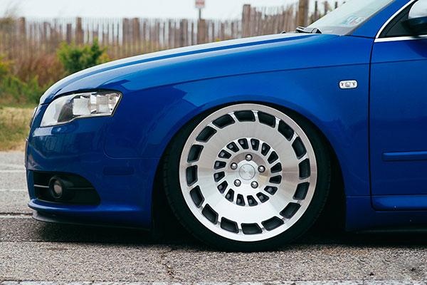 rotiform ccv wheels audi detail