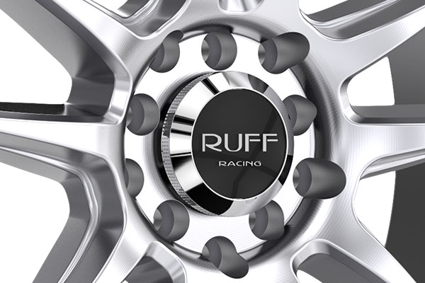 ruff racing r364 wheels cener cap