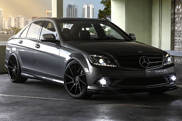 ruff racing r2 wheels mercedes benz c300 lifestyle