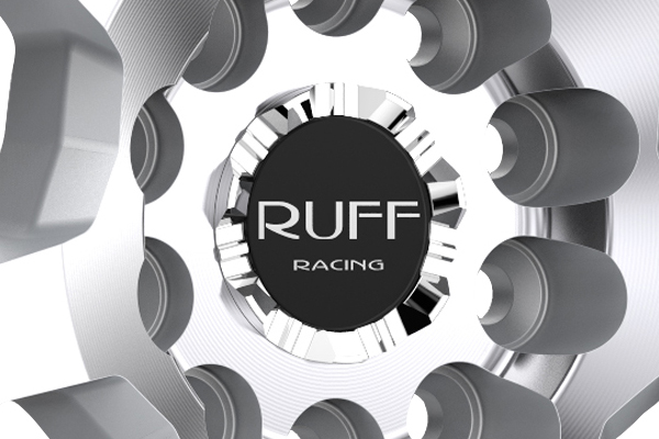 ruff racing r351 wheels center cap