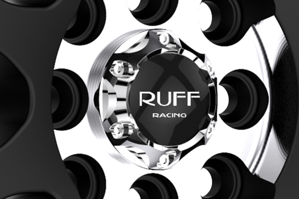 ruff racing r355 wheels center cap