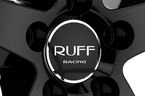 ruff racing r357 wheels center cap