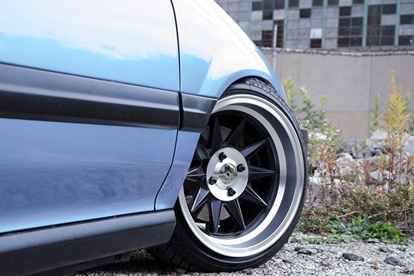 ruff racing r358 wheels civic detail