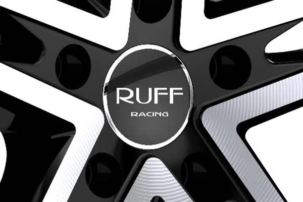 ruff racing r359 wheels center cap