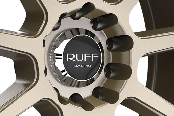 ruff racing r366 wheels center cap
