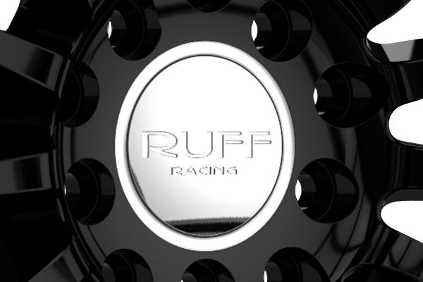 ruff racing r950 wheels center cap