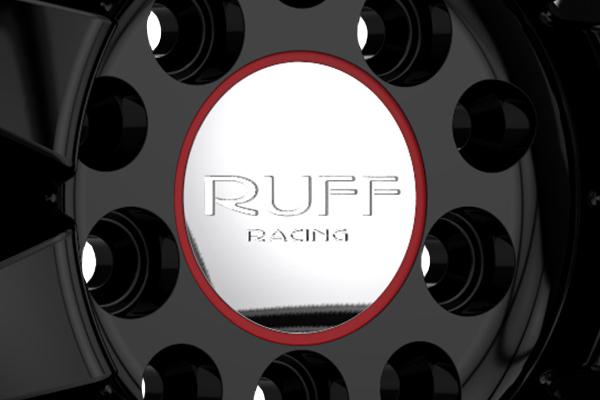 ruff racing r951 wheels center cap