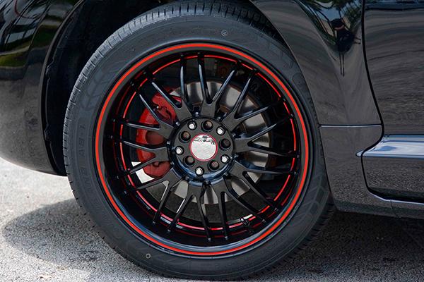 ruff racing r951 wheels eclipse detail