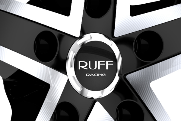 ruff racing r953 wheels center cap