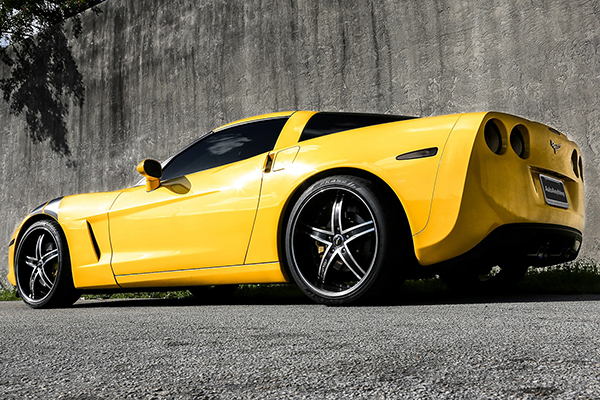 ruff racing r953 wheels corvette rear lifestyle