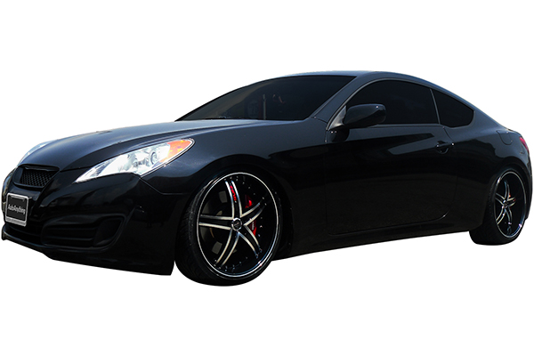 ruff racing r953 wheels hyundai genesis installed