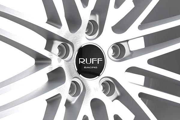 ruff racing r955 wheels center cap