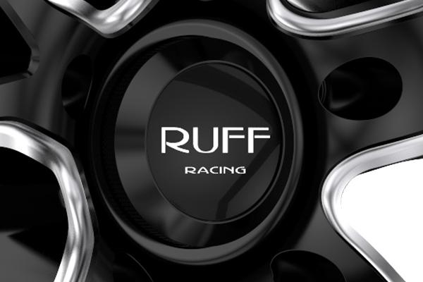 ruff racing r958 wheels center cap