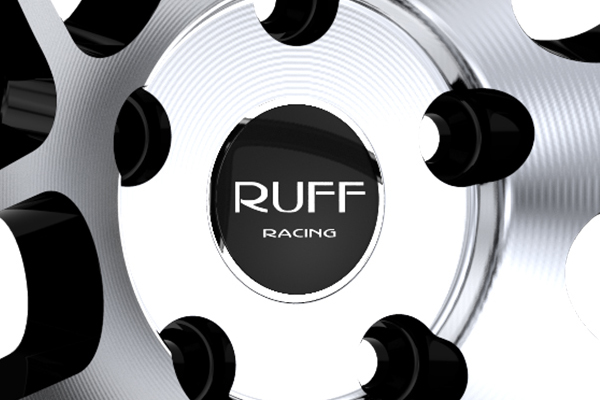 ruff racing r960 wheels center cap