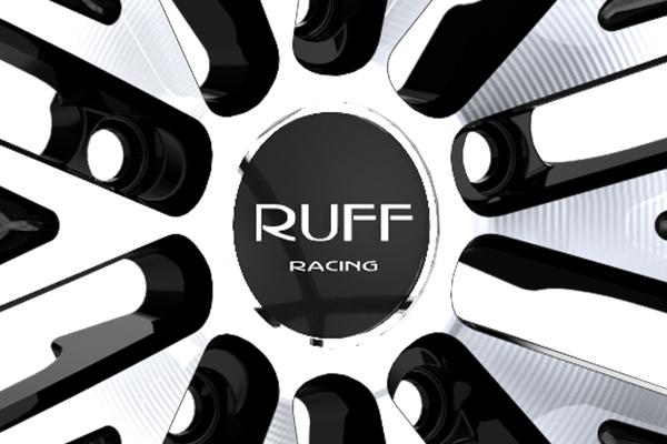 ruff racing r980 wheels center cap