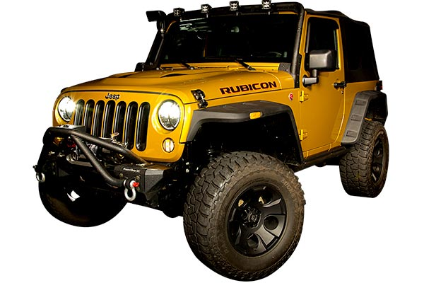 rugged ridge drakon wheels jeep installed