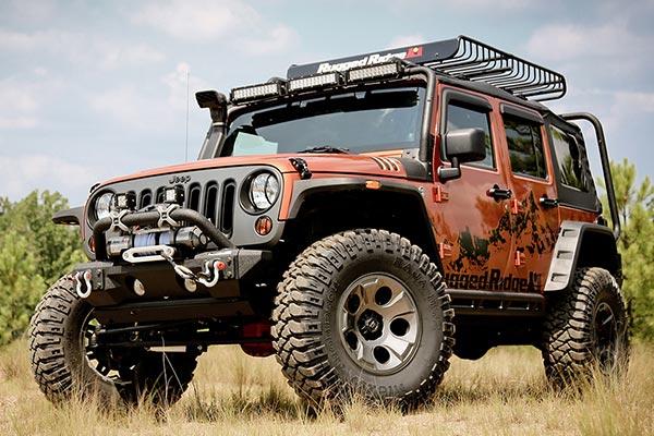 rugged ridge drakon wheels jeep lifestyle