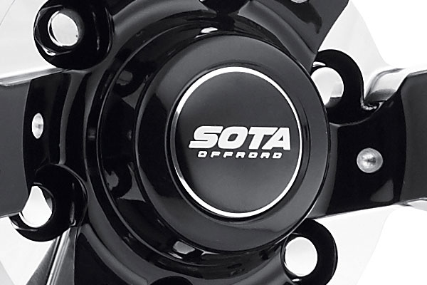 sota scar wheels center cap
