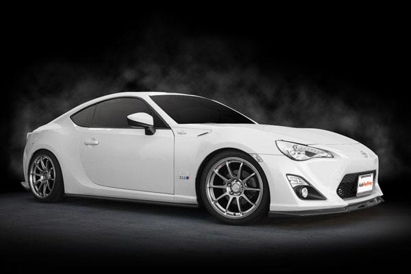 ssr gtv02 wheels installed scion frs
