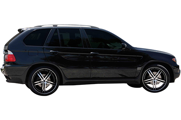 status s816 knight 5 wheels bmw x5 installed