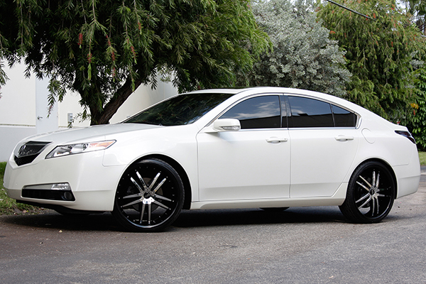 status s820 fang wheels acura tl installed