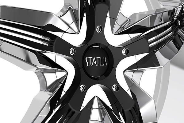 status s822 dystany wheels center cap
