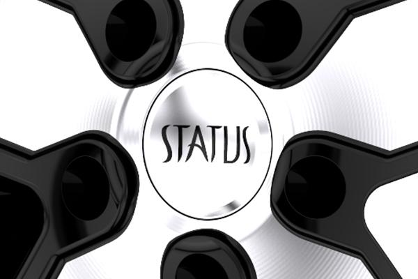status s830 take over wheels center cap