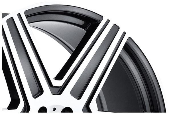 tsw mandrus atlas gloss gunmetal mirror cut lip
