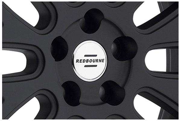 tsw redbourne hampshire matte black gloss black center