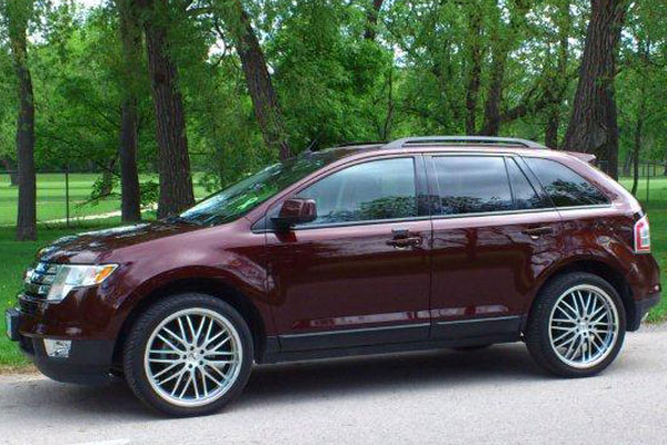 tsw snetterton wheels ford edge lifestyle