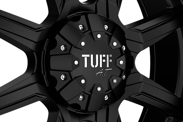tuff at t 14 wheels center cap