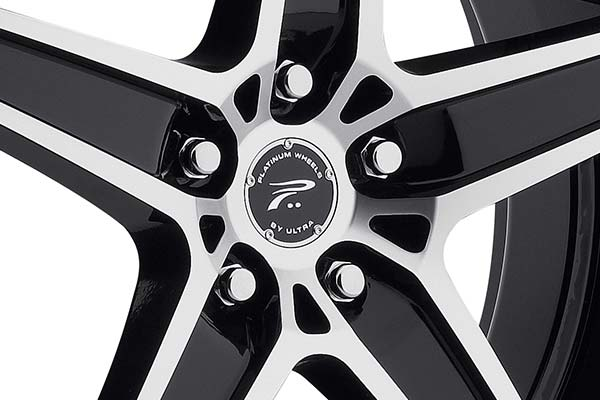 ultra platinum 418 wraith wheels center