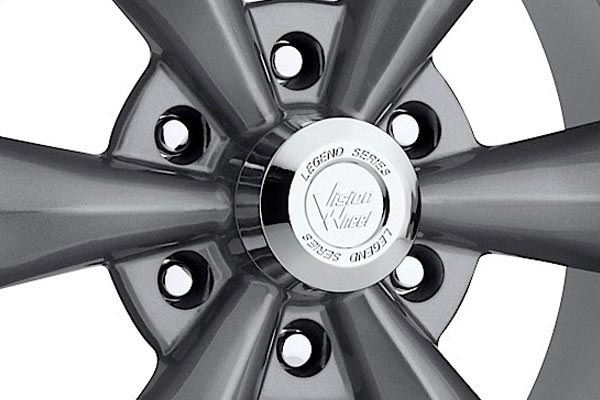 vision 141 legend 6 wheels center cap