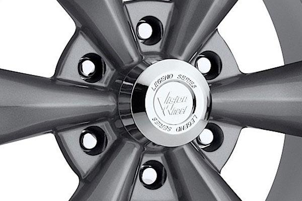 vision 141 legend 6 wheels center cap