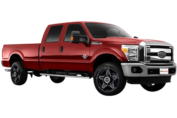 vision 395 wizard wheels ford f350 installed