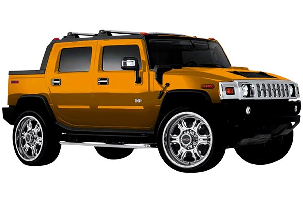 vision 397 rage wheels hummer h2 installed