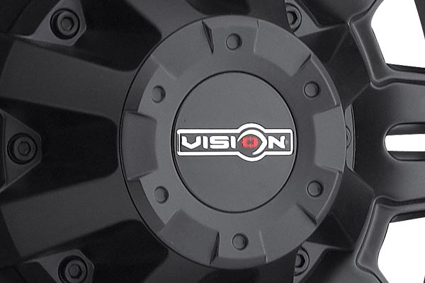 vision 400 incline wheels center cap
