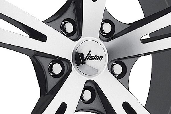 vision 463 xcite wheels center cap
