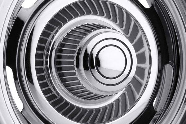 vision 57 chrome rally wheels center cap