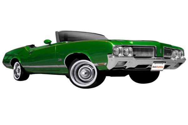 vision 57 chrome rally wheels cutlass