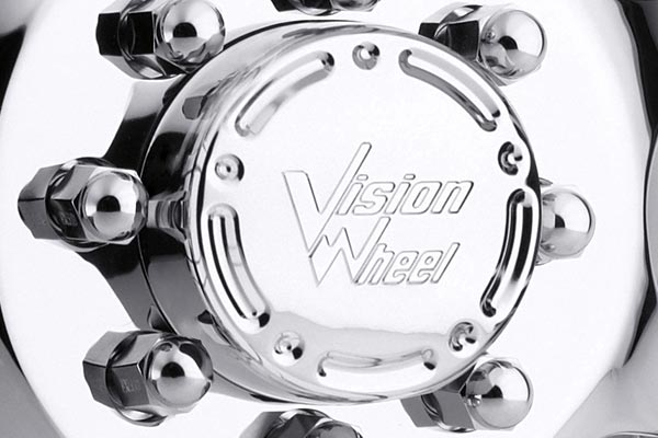 vision 715 crazy eightz duallie wheels center cap