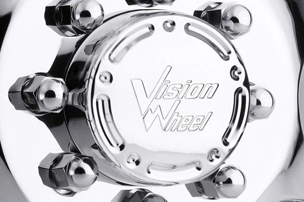 vision 715 crazy eightz duallie wheels center cap