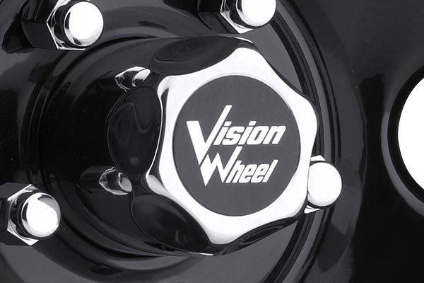 vision 85 soft 8 wheels center cap