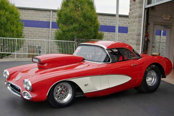 weld draglite wheels 1960 corvette installed
