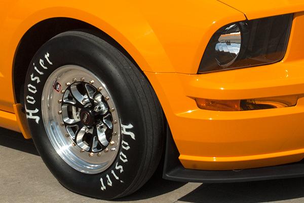 weld rt vektor wheels mustang front installed