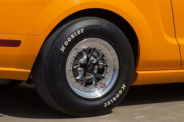 weld rt vektor wheels mustang rear installed