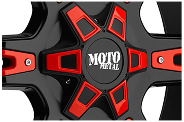 wheel pros moto metal MO969 center