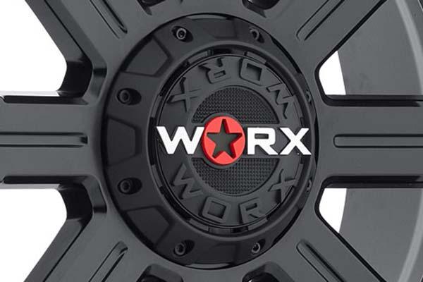 worx 806 triton wheels center