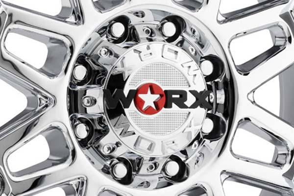 worx 811 conquest wheels center