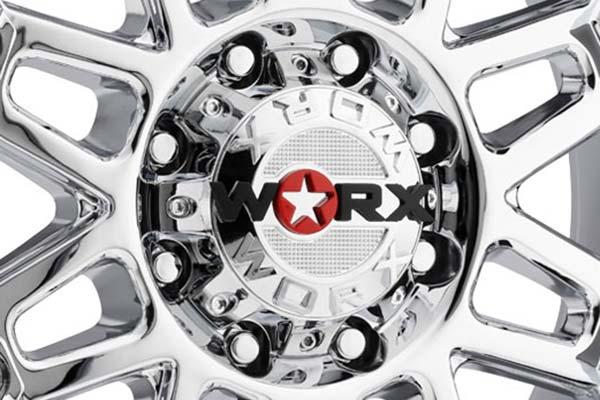 worx 811 conquest wheels center